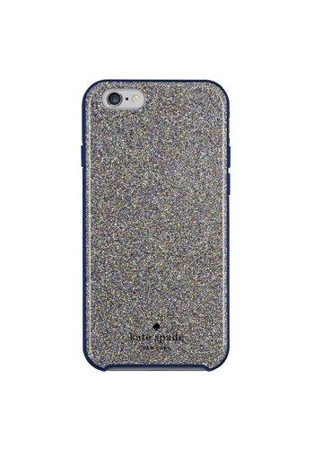 Kate Spade NY Hybrid Hardshell Case for iPhone 6 Plus/6S Plus (Multi Glitter French Navy)