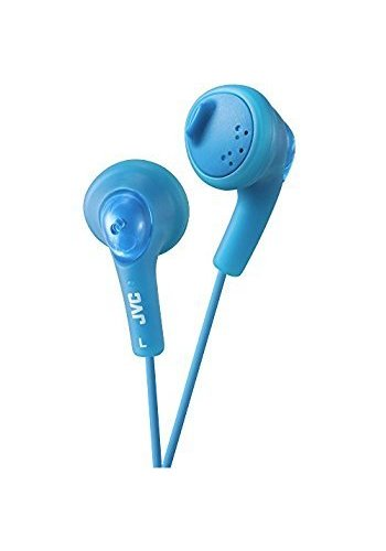 1b09d3ecc12 JVC Gumy Headphone, Blue, In Ear