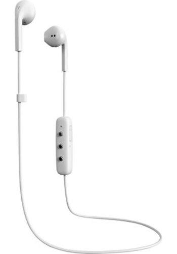 Happy Plugs Earbuds Plus Wireless (White)