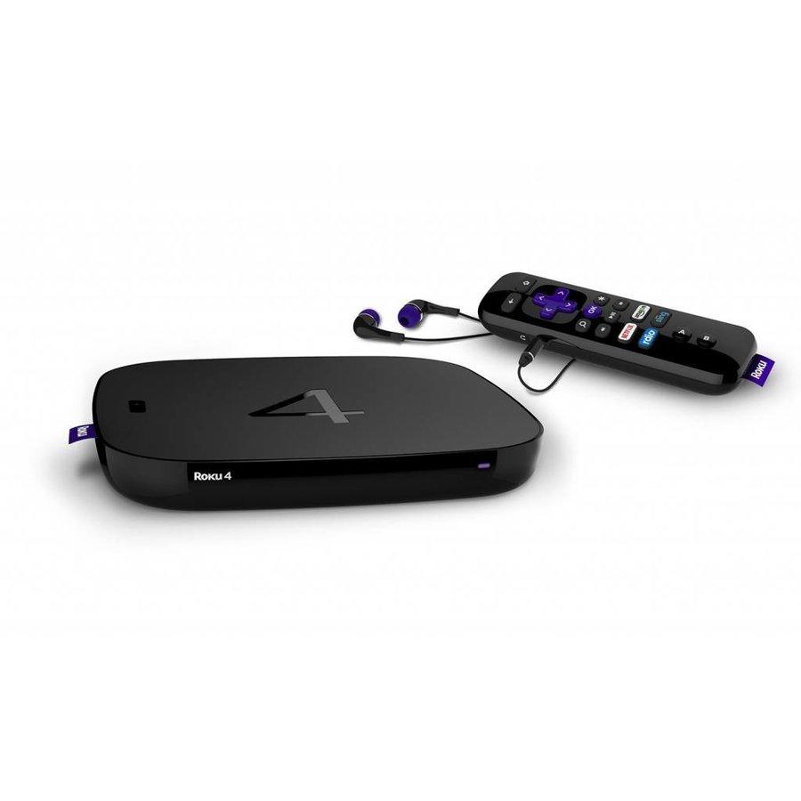 Roku 4 Network Audio/Video Player (Black)