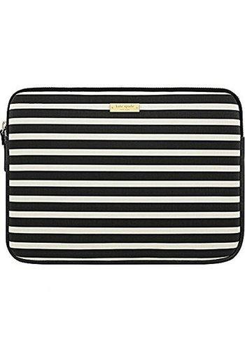 "Kate Spade Carrying Sleeve for 13"" MacBook (Black/Cream)"