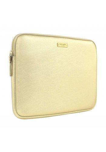 "Kate Spade NY Saffiano Laptop Sleeve for 13"" MacBook (Metallic Gold)"