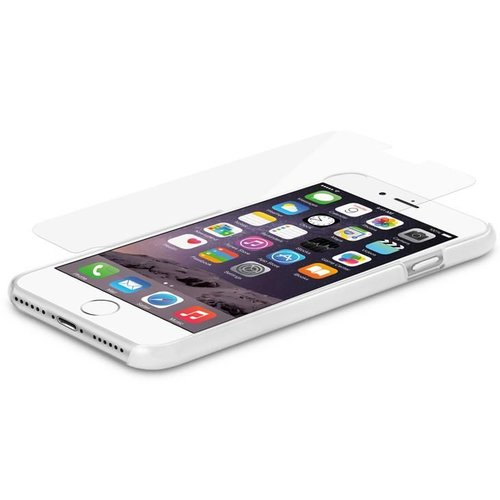 Macally Tempered Glass Screen Protector for iPhone 7/8 Plus Transparent