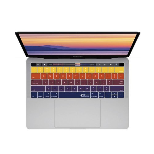 """KB Covers Sunset Keyboard Cover MacBook Pro 13"""" and 15"""" w/ Touch bar"""