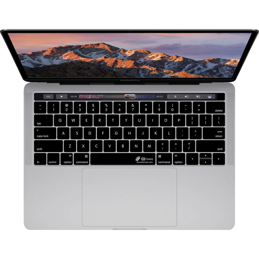 """separation shoes 2c798 983e5 KB KB Covers Keyboard Cover Clear for MacBook Pro 13"""" and 15"""" w/ Touch Bar"""