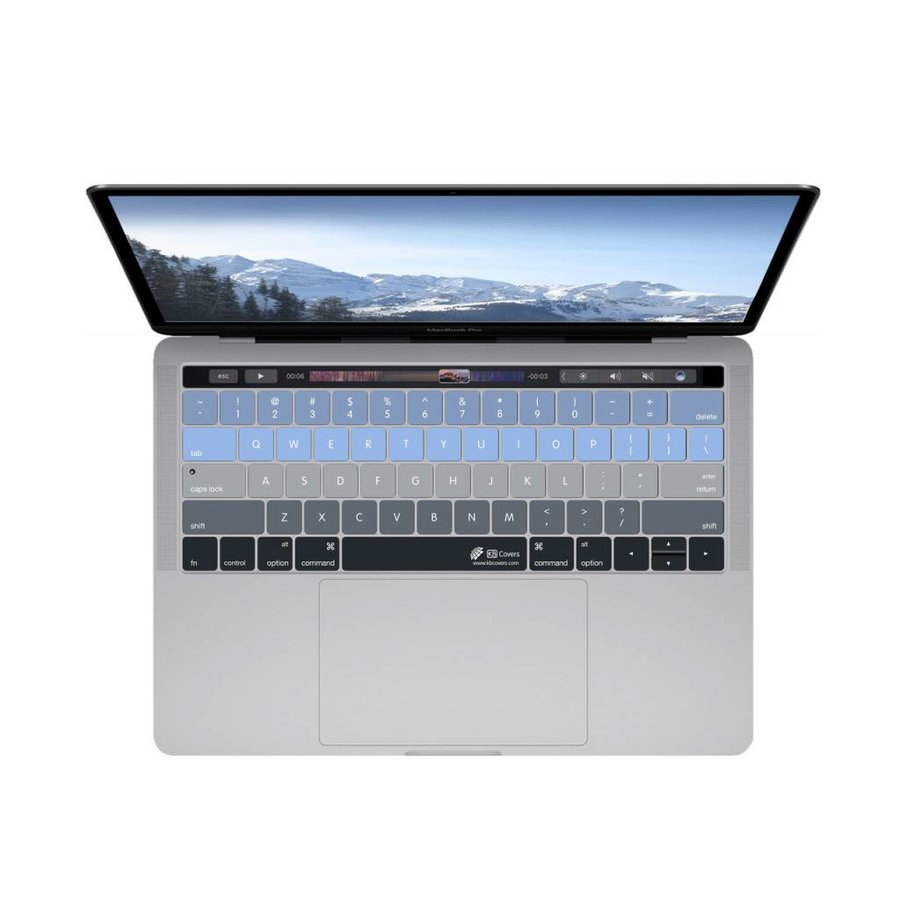 """meet eef1b ca1a5 KB KB Covers Aspen Keyboard Cover MacBook Pro 13"""" and 15"""" w/ Touch Bar"""