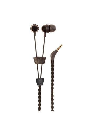 Wraps Fabric Wrap In-Ear Headphone (Brown)