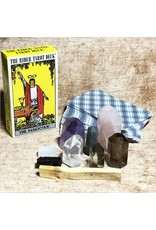 "Tarot Deck with Grade ""A"" Quality Crystals Starter Kit"