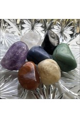 Chakra Stones Set of 7 Tumbled Stones A Quality