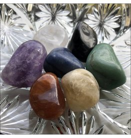 Chakra Stones Set of 7 Tumbled Stones A Quality