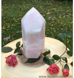Rose Quartz Polished Tower Point A