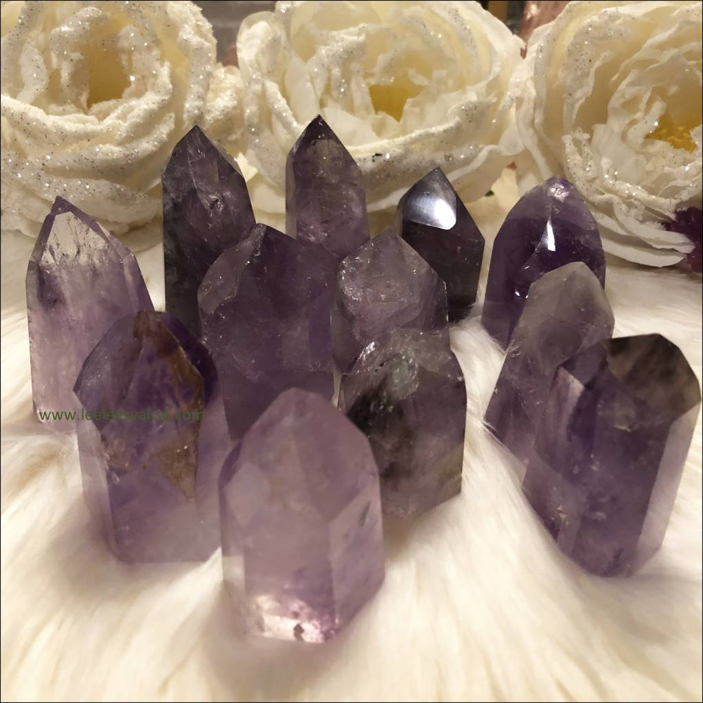Amethyst Crystal Tower Obelisk Point