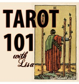 Lee Lee's Valise Tarot 101 Online Weekly Private Workshop