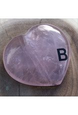 Rose Quartz Polished Heart B