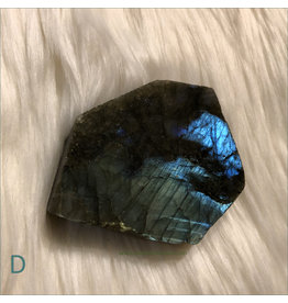 Labradorite Raw Slab D