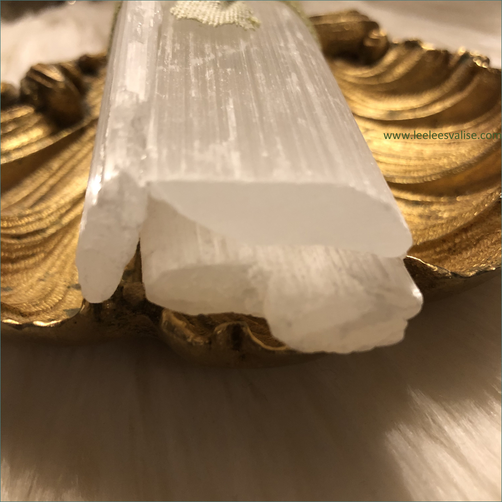 Raw Selenite Bundle of Three