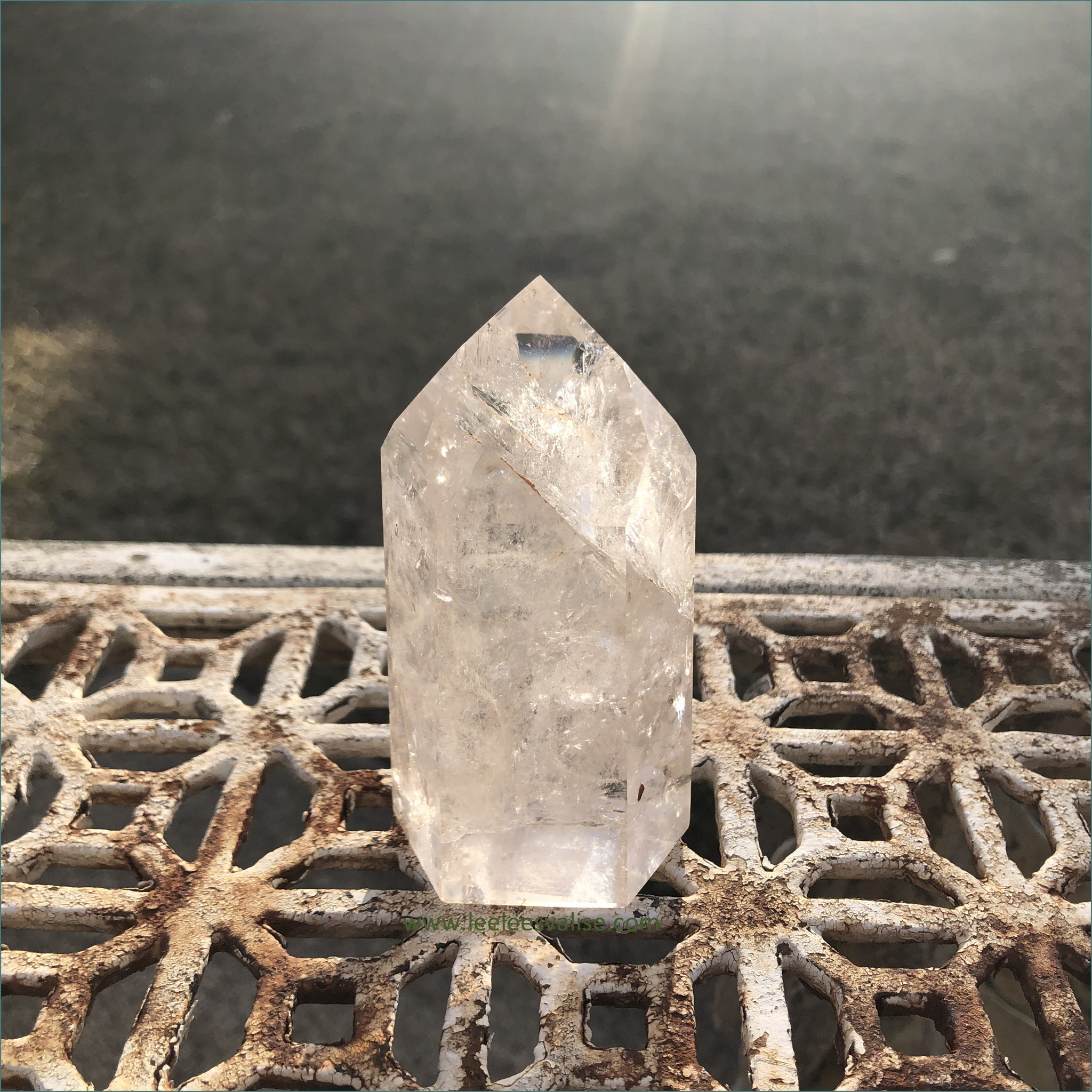 Clear Quartz Polished Tower A