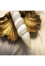 Selenite Polished DT Unicorn Wand