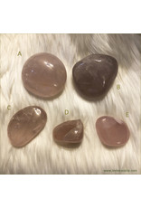 Rose Quartz Polished Palm Stone