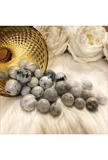Rainbow  Moonstone Spheres (Set of 3)