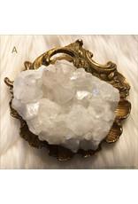 Apophyllite Crystal Cluster A