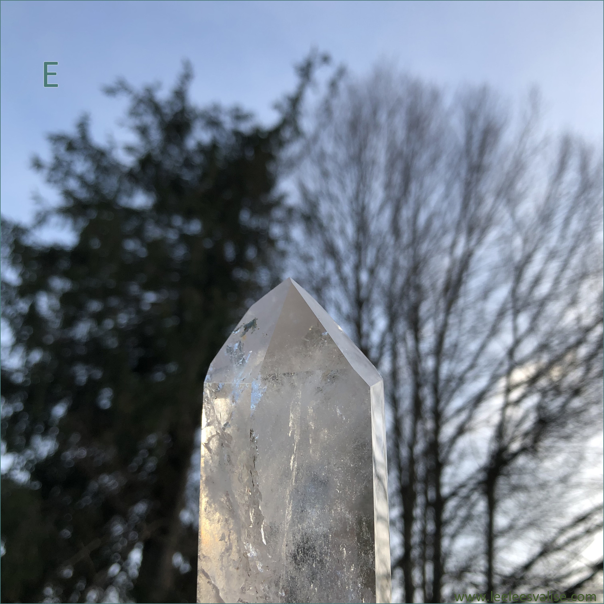 Clear Quartz Polished Tower E