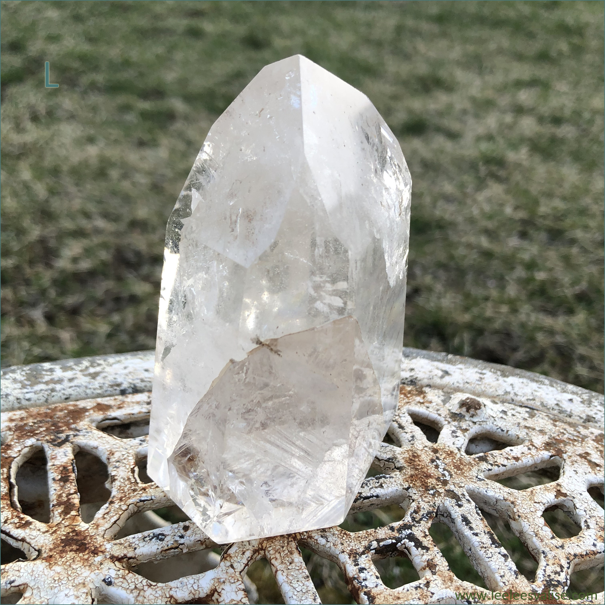 Clear Quartz Polished Tower L
