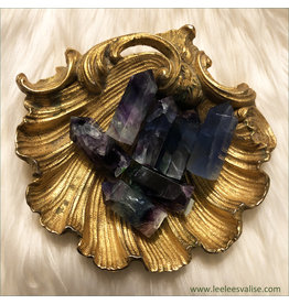Rainbow Fluorite Mini Tower