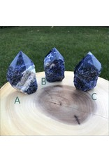 Sodalite Semi Polished Towers
