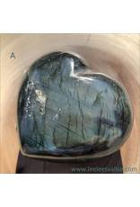 Labradorite Heart A