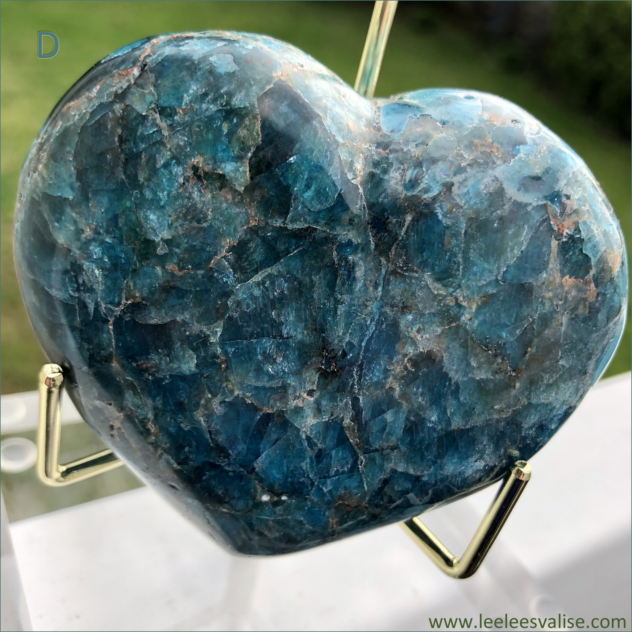 Apatite Polished Heart D