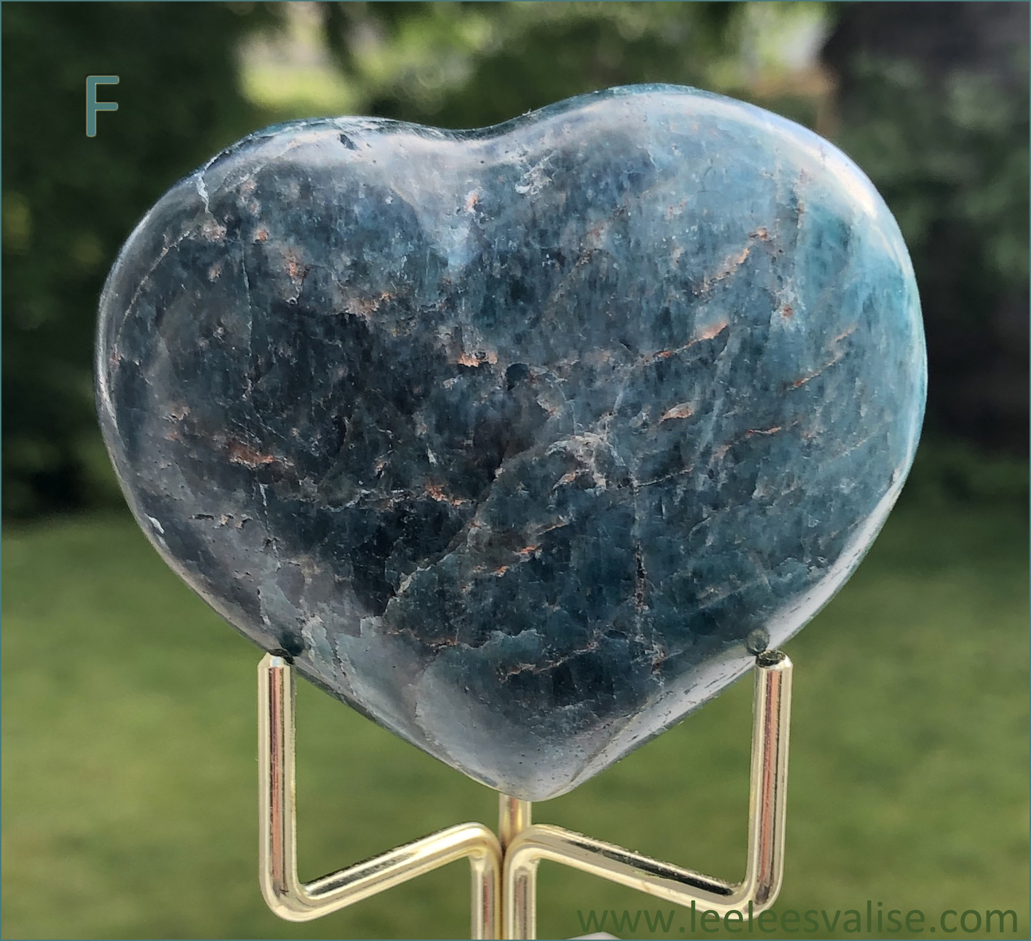 Apatite Polished Heart F