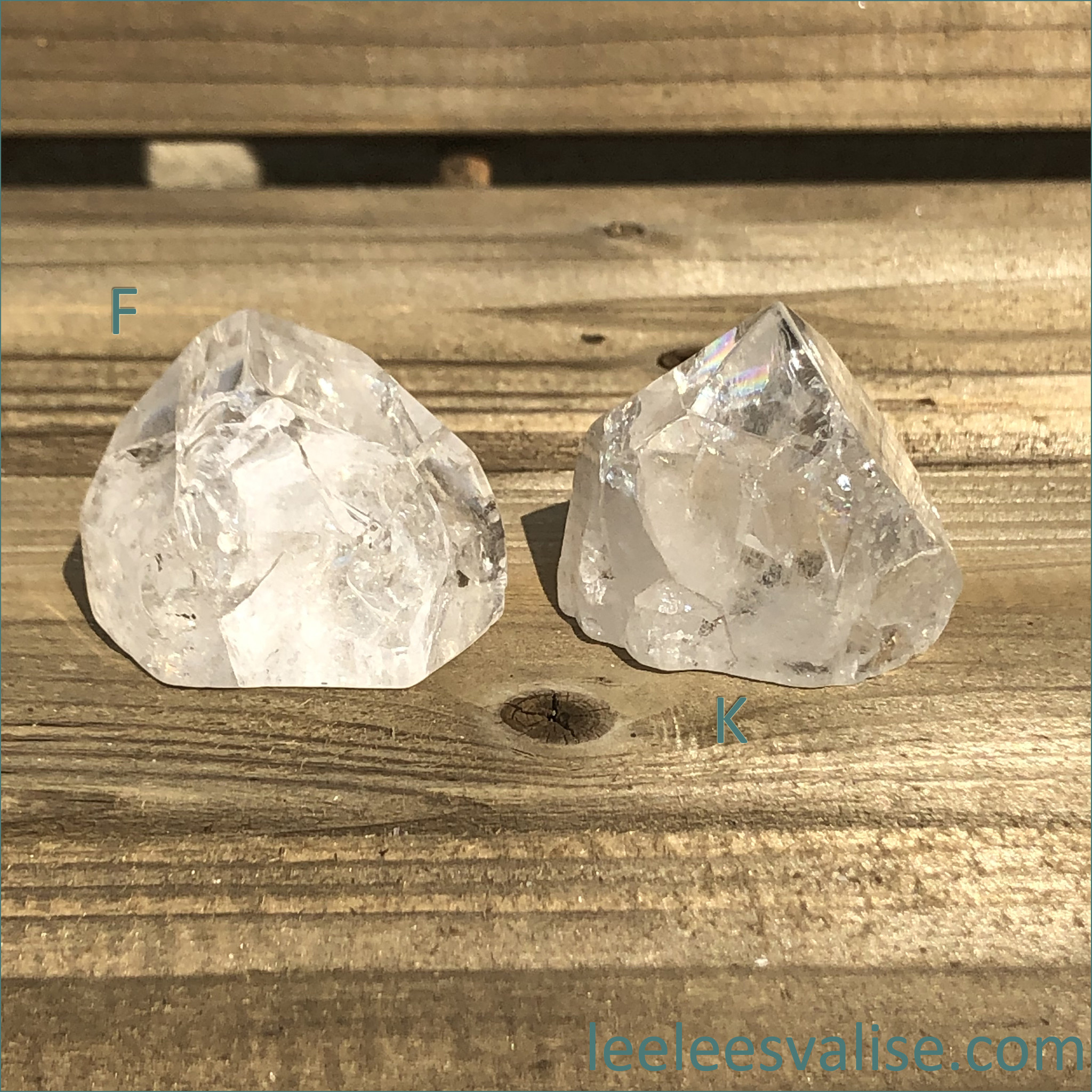 Crackle Quartz (Fire and Ice)