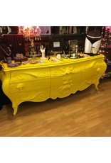 Lee Lee's Valise Antique Baked on Yellow 9 Drawer Dresser