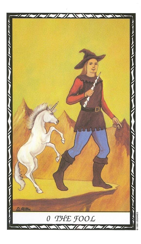Unicorn Tarot Deck/Book Set