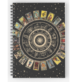 Tarot Spiral Notebook