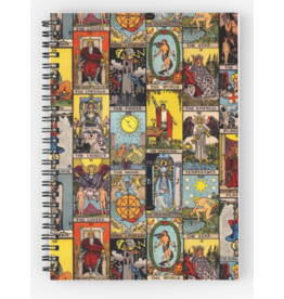 The Major Arcana of Tarot Spiral Notebook