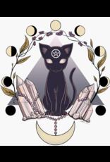 Luna Cat Vinyl Sticker