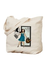 Lee Lee's Valise Lee Lee's Valise Logo Canvas Tote