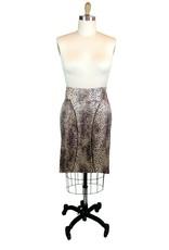 Lee Lee's Valise Linda High Waisted Skirt in Leopard