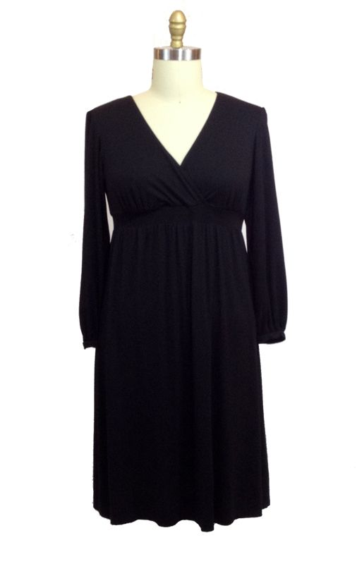 Lee Lee's Valise Lauren Dress in Black
