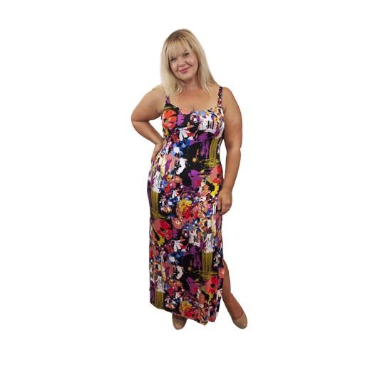 Lee Lee's Valise Kathleen Maxi Dress in Pollock