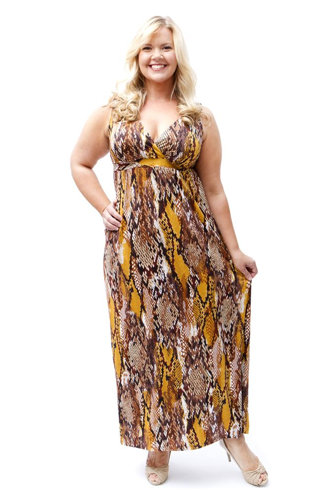 Lee Lee's Valise Janet Maxi Dress