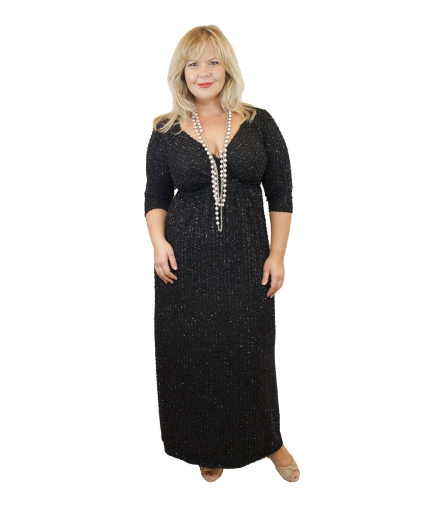 Lee Lee's Valise Stephanie Gown in Glitter