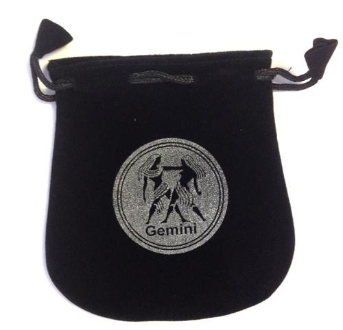 Gemini Sign Velvet Bag