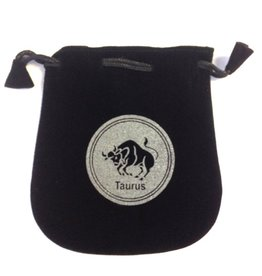 Taurus Sign Velvet Bag