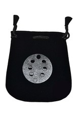 Moon Phases Velvet Bag