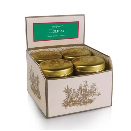 Seda France Cedar & Grapefruit Travel Tin Candle