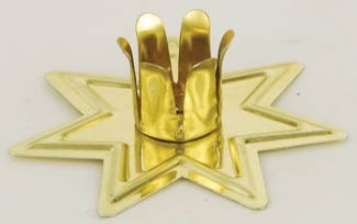 Gold Fairy Star Chime Candle Holder