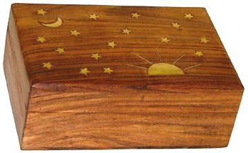 Stars and Moon Box